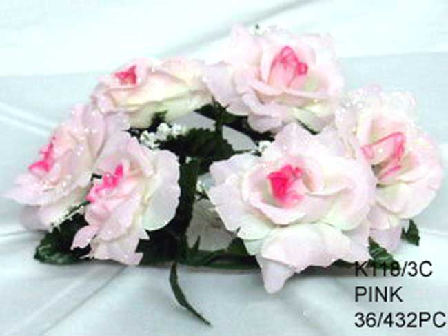All artificial silk flowers ksw wholesale artificial flowers open rose candle rings k1183c mightylinksfo